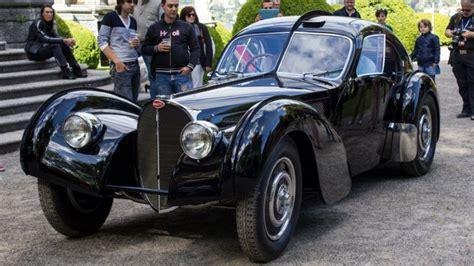 The production run of 57sc atlantics possessed plain aluminium bodies though the dorsal seams were retained for style. Ralph Lauren's 1938 Bugatti Coupé Type 57SC Atlantic: $40 Million for a Ride?