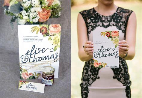 DIY Wedding Invitations: Floral ~ Creative Market Blog