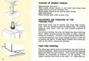 Kenmore 158 1303 Sewing Machine Instruction Manual