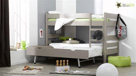 chambre pour deux enfants lit enfant superposé 1 2 3 ma chambre d 39 enfant