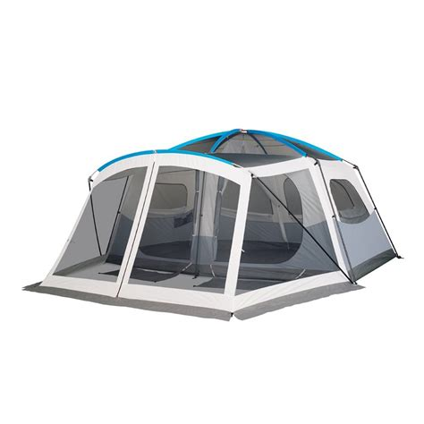 cabin tent with porch mobile site embark 9 person cabin tent with screen porch 14x15