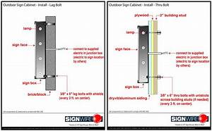 Wiring Diagrams For Signs Diagram For Alternator Wiring Diagram
