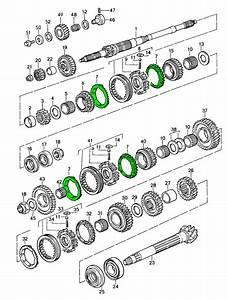 Porsche 911 G50 Synchro Ring 92830421105  1