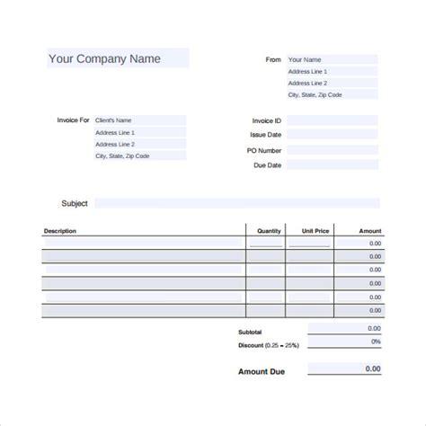 auto repair invoice template 12 sle auto repair invoice templates to sle templates