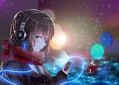 anime headphones wallpapers top  anime headphones