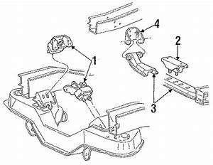 Ford Aerostar Manual Transmission Mount  Liter  Head