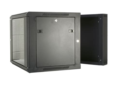 wall mount cabinet networx 12u swing out wall mount cabinet 301 series 24