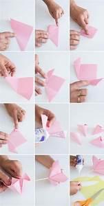 Servietten Blumen Falten : 53 instructions for origami flower how to make unique flowers origami blume blumen basteln ~ Watch28wear.com Haus und Dekorationen