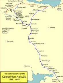 caledonian railway lines  edinburgh wikipedia