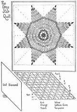 Quilt Patterns Patchwork Star Lone Pattern Template Quilts Lonestar Quilting Native American Coloring Short Pages Mckim Ruby Crazy Diamond Barn sketch template