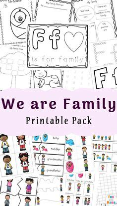 family theme weekly home preschool images