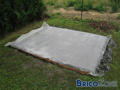 dalle de b 233 ton pour abri de jardin o 249 couper le plastique