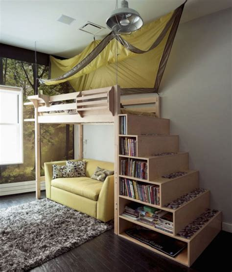 marvelous space saving loft bed designs   ideal