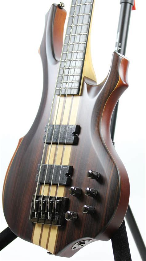 ESP LTD F-4E Sample/Prototype Bass Guitar | 6-String.com
