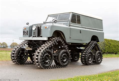 1958 land rover with cuthbertson conversion auctioned daily mail