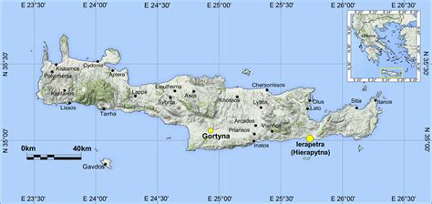 Geoarchaeology of the Roman harbour of Ierapetra (SE Crete ...