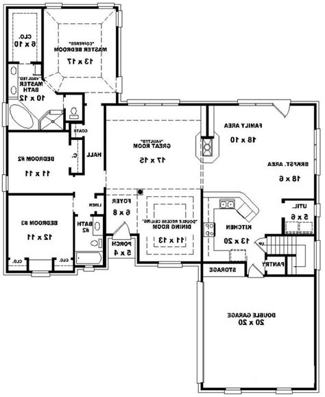 two room plan home design 3 bedroom sun room 2 story house plans free printable within bed bath 89