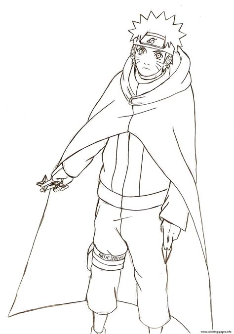 anime naruto shippuden coloring pages printable