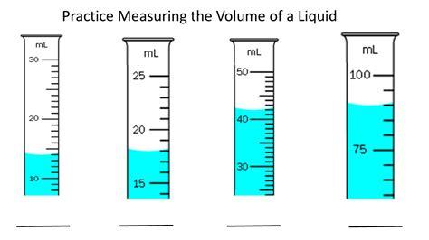 Graduated Cylinder Measuring Liquid Volume Worksheet  Free Printables Worksheet