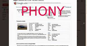 what does a google wallet phony invoice look like you ask With google wallet send invoice