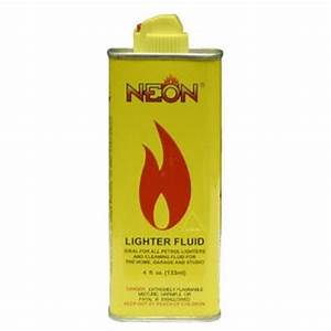 NEON LIGHTER FLUID 4 5OZ Fluid & Butane Smoke