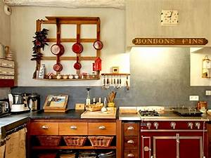 decoration cuisine vintage With deco retro cuisine