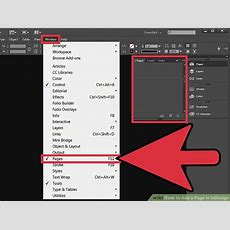 How To Add A Page In Indesign 3 Steps (with Pictures) Wikihow