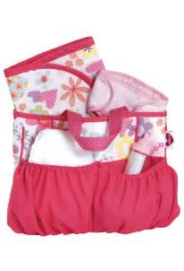 Baby Doll Diaper Bags with Accessories