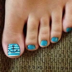 Beach nail art toes 2016 | Nail Art Styling