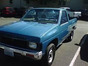 My  U0026 39 87 Nissan Pickup  Front