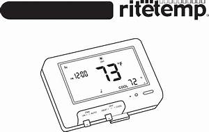 Ritetemp 8030 Thermostat Install Manual Pdf View  Download