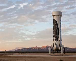 blue origin's reusable new shepard rocket booster ...