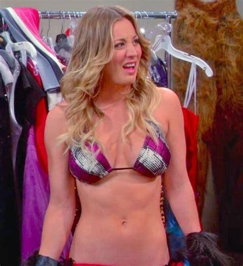 sexy actress kaley cuoco bikini pictures