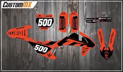 Ktm Orange Graphics Sx Kit Factory Sxf