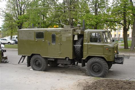 Filegaz  Truck In Russian Military Service  Ee  Used Ee   As A