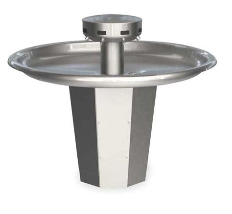 Stainless Steel Shallow Bowl Washfountains By Bradley Zorocom