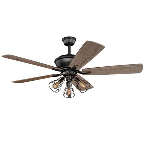 menards ceiling fans with lights turn of the century manchester 52 in bronze ceiling fan