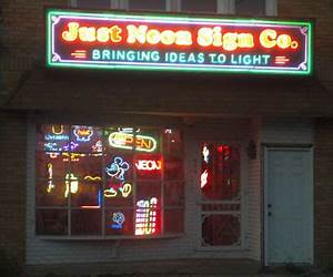 Just Neon Sign pany Specializing in custom neon sign