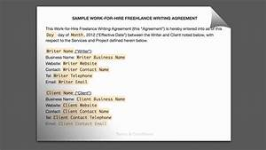 best work for hire agreement templates templatesvip With work made for hire agreement template