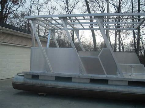 Custom Boat Covers Parry Sound by Custom Built One Pontoon Boat For Sale From Parry