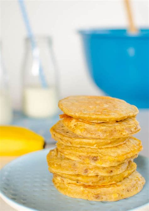 banana oat pikelets   added sugar snack