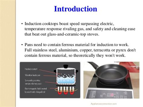 induction cooktops work