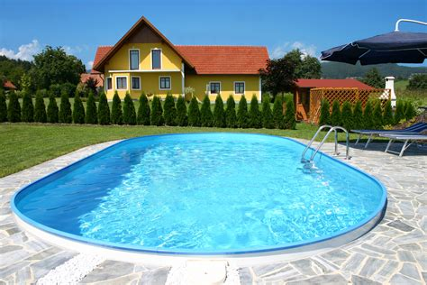 Pool 1 50 Tief by Pool Schwimmbecken Oval 1 50m Tief F 252 R Schwimmbad Und Pool
