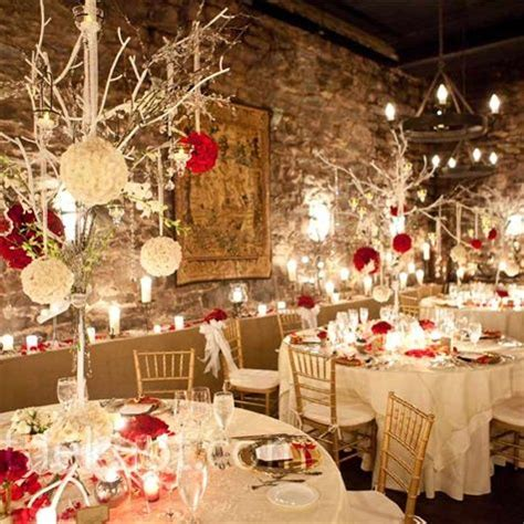 Christmas Wedding Theme Ideas  Dipped In Lace