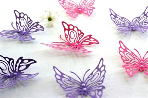 Apply butterflies to the wall with double adhesive tape (check here). Quiet Corner:Butterfly Pattern Wall Decor - Quiet Corner