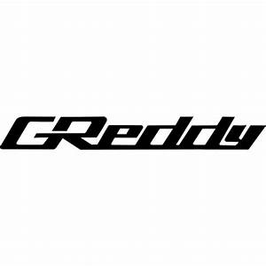 GReddy Logo Decal Sticker - GREDDY-LOGO