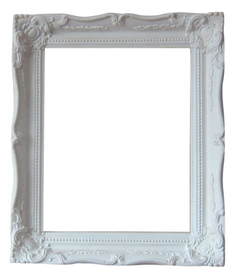 shabby chic photo frames shabby chic ornate unfinished picture frame 12 x 10