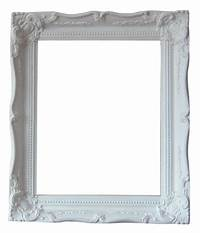 shabby chic picture frames Shabby Chic Ornate Unfinished Picture Frame 16 x 12