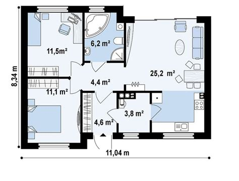 square meter house plans houz buzz