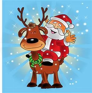 Cartoon Santa And Snowman | www.pixshark.com - Images ...